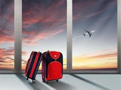 baggage and plane