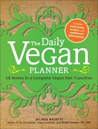 vegan planner
